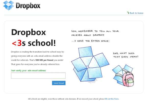 Dropbox For Student