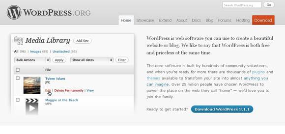 Wordpress 3.1.1 Released